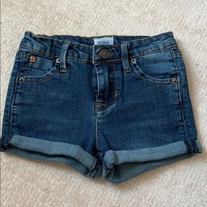 Hudson jeans girls denim shorts size 3T